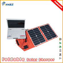 30W Portable Universal Foldable solar cell phone charger for Laptop and Mobile Phone