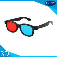 The Cheapest Red Cyan 3D Glasses Plastic Frame
