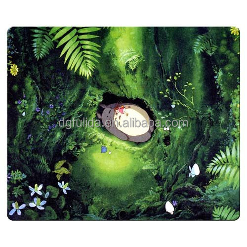 gaming mouse pad rubber +cloth light weight my neighter totoro for gifts