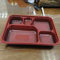 Disposable Lunch Box Plastic Food Containers