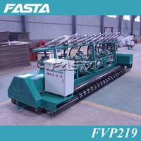 concrete row vibrator and concrete paver machine for road