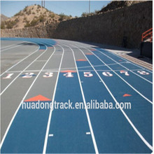 mondo rubber track flooring surface, rubber running track