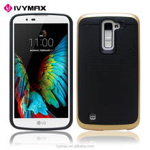 China supplier anti-shock hybrid TPU bumper case ultra slim back cover case for LG K10/Q10(T-Mobile, MetroPCS)