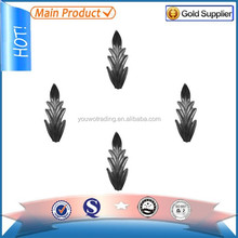 poultry farm Forge steel leaves and flowers china wholesale