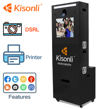 Bill & Coin Operated Touch Screen Photo Booth Machine used For Vending or Rental Business sale