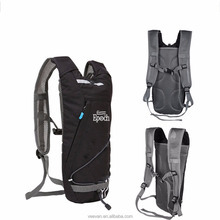 Fashionable hydration Pack custom brand hydration Backpack with 2L TPU bladder water bag