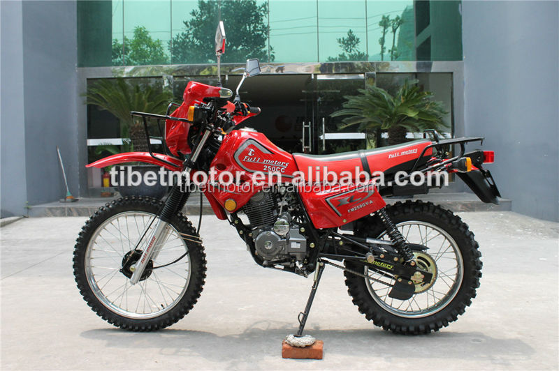 Factory motocicleta orange dirt bike for sale unique motorcycle price ZF250GY-4