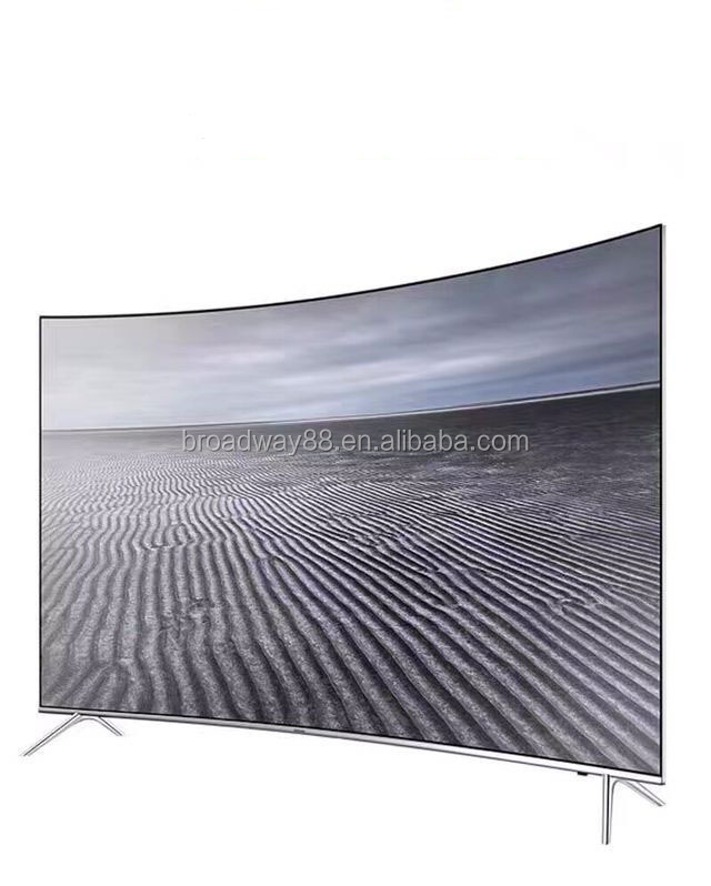 "49"" 55"" 65"" Real 4K Curved <strong>TV</strong> with Quad core processor, 8G memory and 1G DDR Size, support both WIFI and W-Lan"