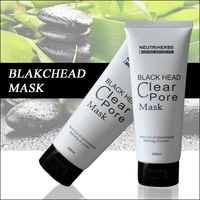 Natural Herb Formula Black Head Remover Mask With Bamboo Carbon