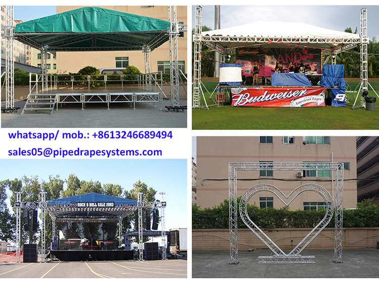 Aluminum Truss facility stage equipment for Lighting display event
