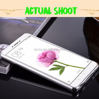 Hot Aluminum metal bumper ultra-thin mirror PC back cover mobile phone case for Xiaomi mi max