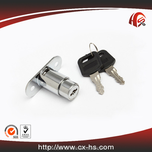 High quality zinc alloy drawer lock blade push button combination lock