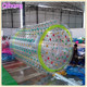 Popular adult inflatable water roller, human hamster clear inflatable body rolling ball in aqua park, water rolling zorb ball
