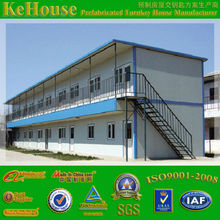 3 bedroom cheap two-storey prefabricated house price