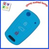direct factory wholesale three button folding Hyundai Kia K3 car key cover silicone car key case