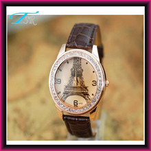 alloy within diamond quartz japan movt cheap price austrian crystal watch