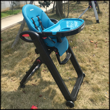 European high portable infant booster seat kitchen baby chairs with wheel
