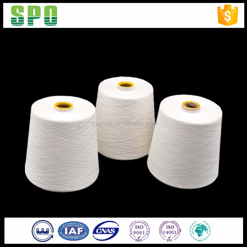 60Nm/2 Carpet Yarn,100% Spun Silk,HS Code 5005009000,Worsted Technology,Knitting Use,Made In China