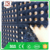 Interlocking Rubber Tile with holes 914 x 914MM black or red color