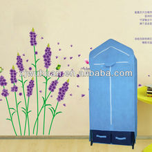 2015 popular series hanging canvas /portable wardrobe