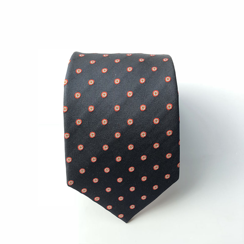 new design jacquard woven 100% silk neck <strong>tie</strong>
