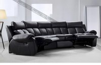 second hand restaurant furniture theater style genuine leather recliner sofa furniture rustic restaurant furniture