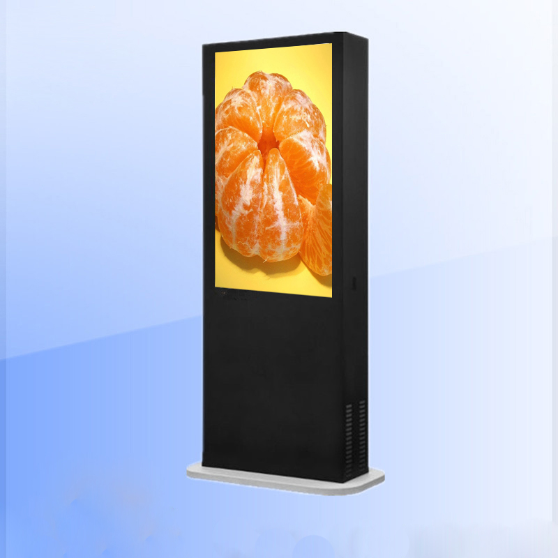 LCD Advertising Media Signages for Supermarket