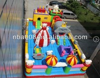 Lovely Animal Sheep Inflatable Bouncer Castle, Kids Play Zone