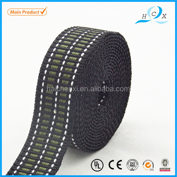 China supplier black weaving wholesale personalised ribbon