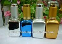 30ml square spa oil glass bottles with dropper