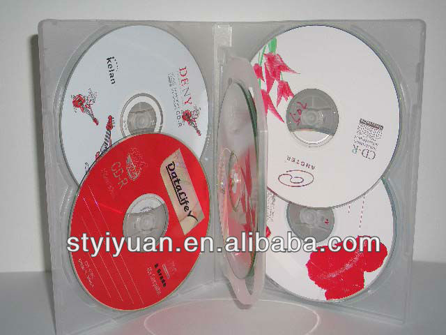 6 discs DVD Case 14mm