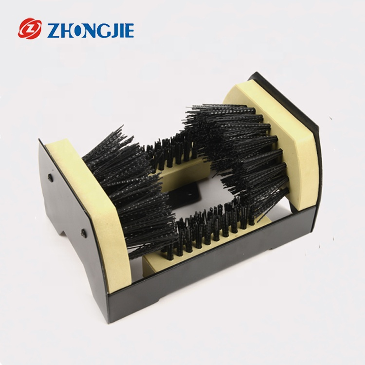 Boot Scrubber Deluxe Boot Scrapers - Outdoor Boot <strong>Brush</strong> Extra Wide for Commercial and Industrial use