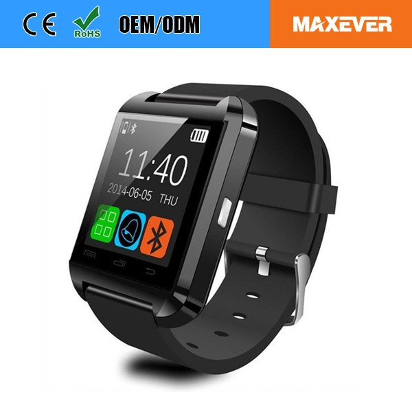 "Cheap Wholesale U8 Bluetooth Smart Watch With 1.44"" Touch Screen"