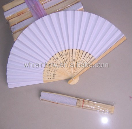 Wedding souvenirs paper fan