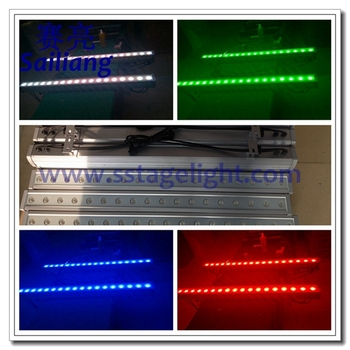 Professional Outdoor Led Wall Washer Light 18*3w Rgb Tricolor Up ...