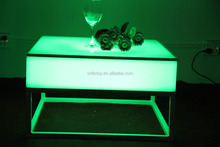 Light Illuminated led cube table
