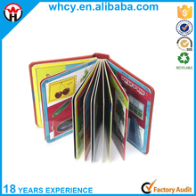 China Cheap Full Color Hardcover Cardboard Child Book Printing