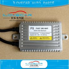 DLT F5 ballast sell directly by factory/55w fast bright hid xenon ballast