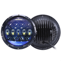 7 led headlight dot 130W 10000LM round led headlight ,oem 7 inch led headlights for jeep wrangler
