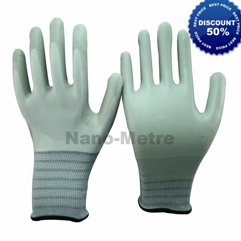 NMSAFETY SAFETY nitrile gloves ce white nitrile foam masonic gloves