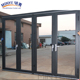 impact commercial bi fold patio glass doors interior