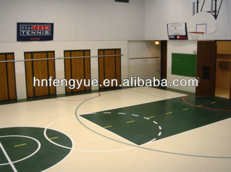 High quality best sales marble pvc flooring for sports