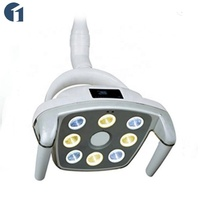 Chinese cheapest 60000 lux led shadowless dental oral implant lamp with sensor