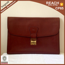 BF0212 Fashionable Genuine Leather Portfolio Bag Case