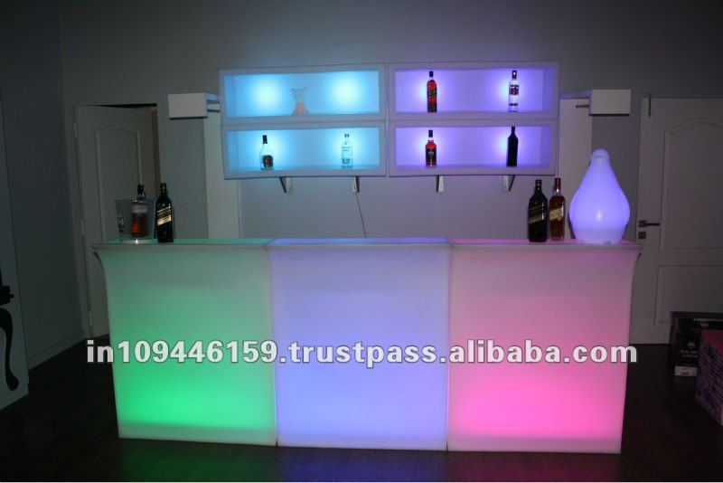 Led bar counters /led bar table/ LED COMMERCIAL BAR COUNTER