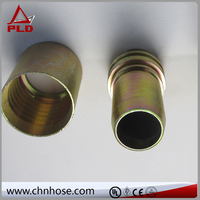 Hose fittings for U.S. market flange type rubber expansion joint