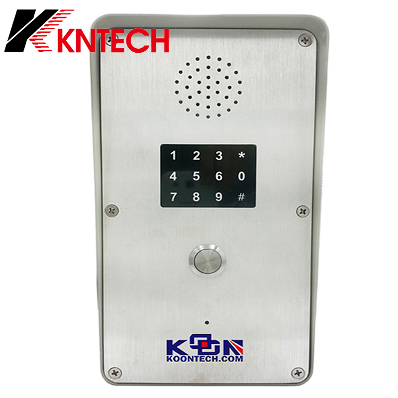 High cost-effective basic sip phone intercom system for apartment KNZD-52