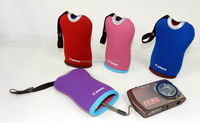 Neoprene Rubber Foam digital camera pouch