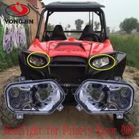 Chinese Cheap prices ATV Accessories led headlight for polaris RZR 800/900 XP ATV UTV rzr900