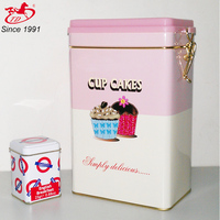 Wholesale Alibaba Decorative air isolation coffee Tin Box